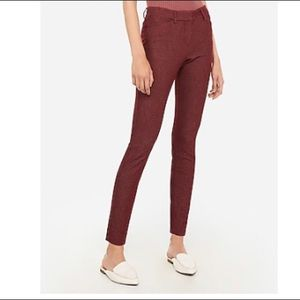 Express Mid Rise Stretch Skinny Pant - like new!